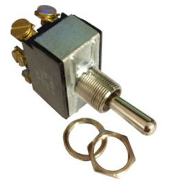 LOT OF 4 Pollak 34-578 Momentary On-Off-On 6-Screw Toggle Switch