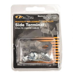 Deka Heavy-Duty Replacement Side Post Terminal