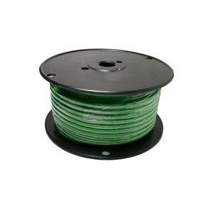 Green Automotive Primary Copper Wire | 8 Gauge, 100 Feet