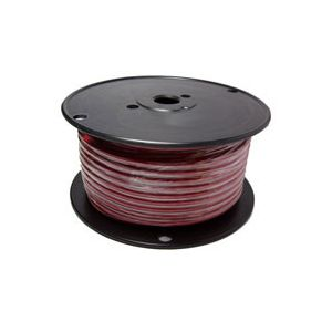 Red Automotive Primary Copper Wire | 8 Gauge, 100 Feet