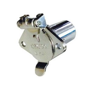 Pollak Light-Duty, Chrome 4-Pole Connector Socket