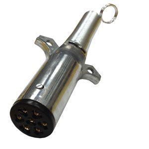 Pollak 7 Pole Trailer Plug | Weather-Beater