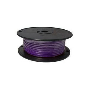 Purple Automotive Primary Copper Wire | 10 Gauge, 100 Feet