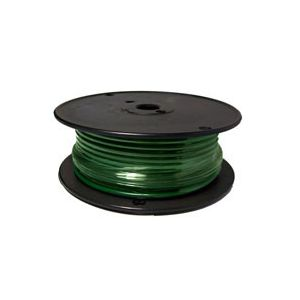 Green Automotive Primary Copper Wire | 10 Gauge, 100 Feet