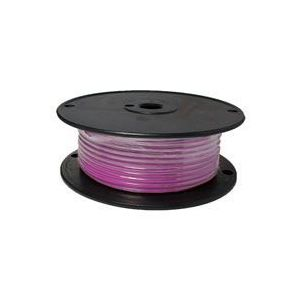 Pink Automotive Primary Copper Wire | 10 Gauge, 100 Feet