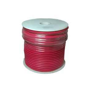 12 Gauge Red Primary Wire | 100 Foot Spool | Bee Wire & Cable 112-5