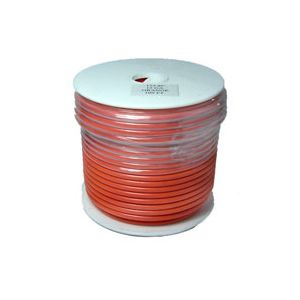 12 Gauge Orange Primary Wire | 100 Foot Spool | Bee Wire & Cable 112-8