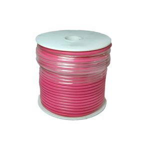 12 Gauge Pink Primary Wire | 100 Foot Spool | Bee Wire & Cable 112-9