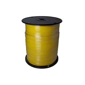 Bee Wire: 14ga Primary Wire - Yellow - (1000 Foot Spool)