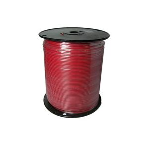 14 Gauge Red Primary Wire | 1,000 Foot Spool | Bee Wire & Cable 114M-5