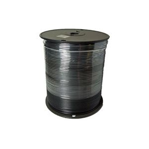 14 Gauge Black Primary Wire | 1,000 Foot Spool | Bee Wire & Cable 114M-7