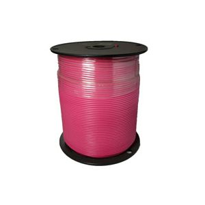 14 Gauge Pink Primary Wire | 1,000 Foot Spool | Bee Wire & Cable 114M-9