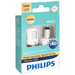 Philips Ultinon 1156 Amber LED | 2 Pack