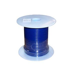 16 Gauge Blue Primary Wire | 100 Foot Spool | Bee Wire & Cable 116-1