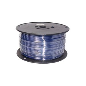 16 Gauge Blue Primary Wire | 500 Foot Spool | Bee Wire & Cable 116H-1