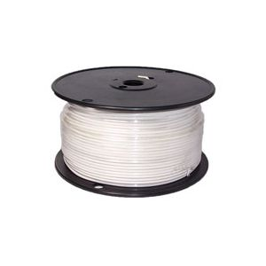 16 Gauge White Primary Wire | 500 Foot Spool | Bee Wire & Cable 116H-2