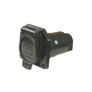 Pollak Plastic 7-Blade RV Socket | Car End Only