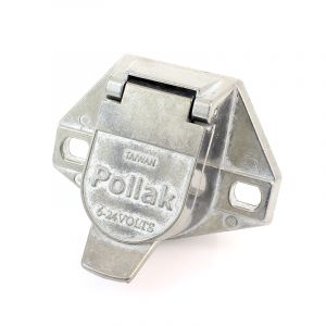 Pollak ISO Trailer Connector Socket Die-Cast