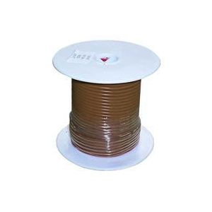 Brown Automotive Primary Copper Wire | 20 Gauge, 100 Feet