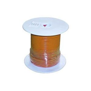 Orange Automotive Primary Copper Wire | 20 Gauge, 100 Feet