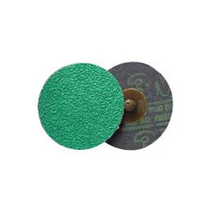 "3M: Green Corps 3"" Roloc Abrasive Disc - 36 Grit"