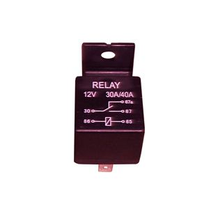 ABSS: Universal Automotive Relay - 5 Terminal - 12v 30/40A