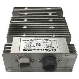 Sure Power: Battery Converter (24V∼12V) 30 Amp w/ Switched Output