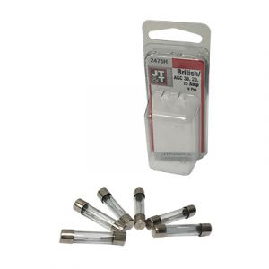 JT&T British/Japanese AGC/SFE Glass Fuse Assortment | 6 Pack