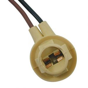GM/Ford 2-Wire Double Contact Light Socket | 90° Socket