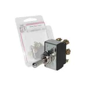 JT&T Heavy-Duty Marine Toggle Switch | DPDT | 30 Amp