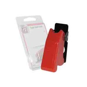 JT&T Green Toggle Switch Position Indicator and Guard | Red