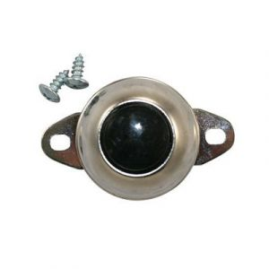 JT&T Universal Horn Button | Flush Mount | 12-Volt, 5-Amp