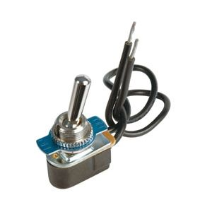 JT&T Pre-Wired Toggle Switch | SPST | 12-Volt, 15 Amp