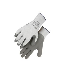 Majestic: Grey Atlas Thermal Rubber Palm Gloves - Pair