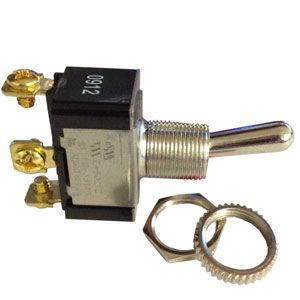 Pollak SPDT Toggle Switch | 12 Volt, 20 Amp