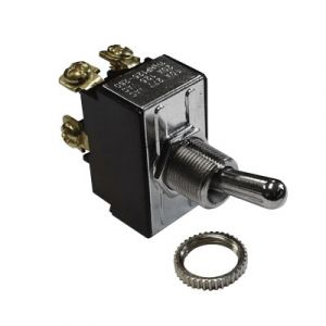 Pollak 2-Position Toggle Switch | 12-Volt, 20-Amp