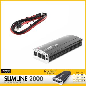 Wagan Tech: Slimline AC Inverter 2000 WATT