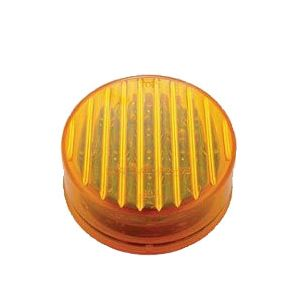 United Pacific 13-LED Round Marker Light | 2 1/2 Inch | Amber