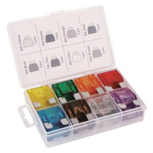 Titan: Tekz 24 Pc MAXI Blade Fuse Assortment
