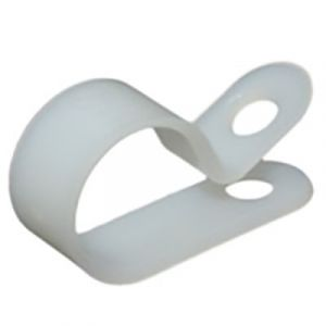 """JT&T 3/8"""" Natural Nylon Cable Clamp 