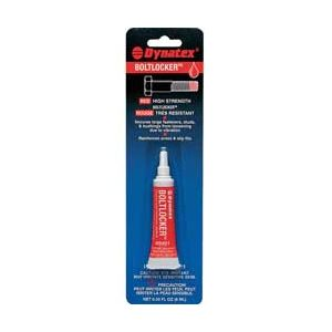 Dynatex: Bolt Locker - High Strength - Red (6 mL.)