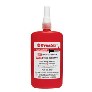 Dynatex Red High Strength Threadlocker | 250ml Bottle