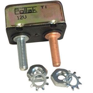Pollak 8 Amp Circuit Breaker : Thermal Type I