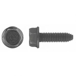 6-1.00 x 20mm - 10mm Flanged Indented Hex Head Body Bolt (50 pack)