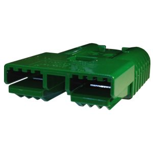 Heavy Duty Anderson Battery Connector Housing - Green