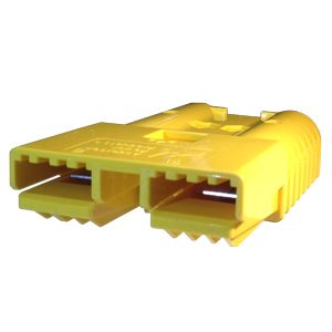 Heavy Duty Anderson Battery Connector Housing - Yellow