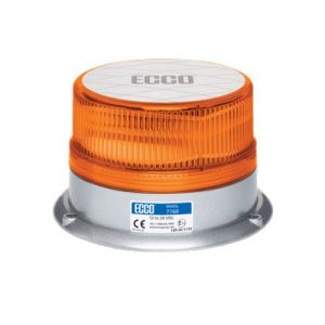 ECCO 7160A : SAE Class I Amber Beacon (15 flash patterns)