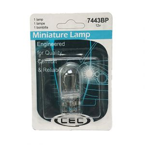 CEC Miniature Incandescent Bulb #7443 - 2 Pack
