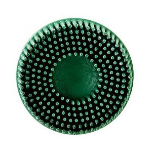 "3M: Roloc 3"" Green Bristle Disc - coarse Grade"