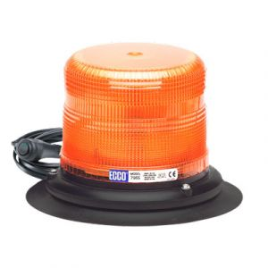 ECCO 7965A SAE Class I LED Beacon (12-24V) : Vacuum-Magnet Mount